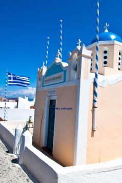 kreikkalainen kirkko oiassa