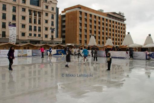 beirut downtown ice skating