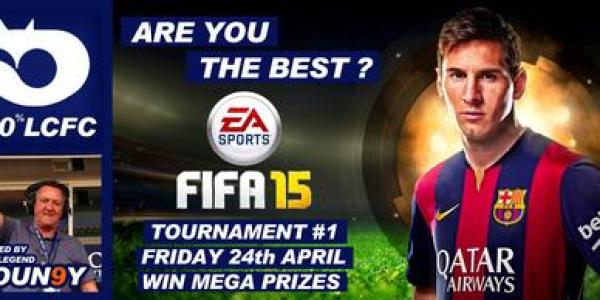 FIFA TOURNAMENT – WIN MEGA PRIZES