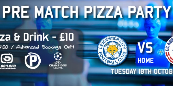 Champions League Pizza Party @ Peters !