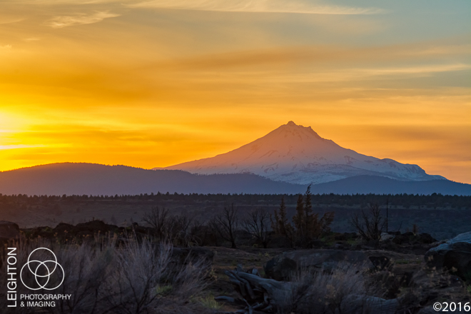 Oregon's Second Highest Volcano - Mount Jefferson