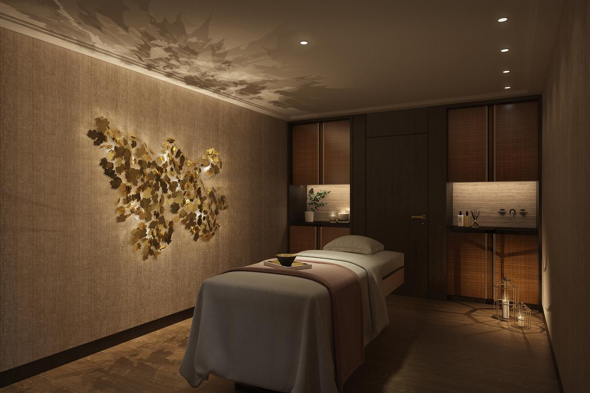 The Large Spa Has Been Designed By Dennis Irvine Studio