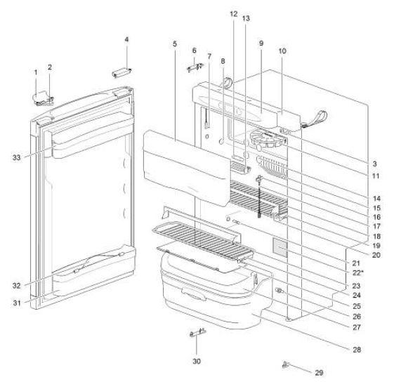 Refrigerator Spare Parts List Pdf - Auto Electrical Wiring Diagram on fridge compressor, fridge cover, fridge thermostat diagram, fridge installation, fridge coil diagram, fridge repair diagram, fridge parts,