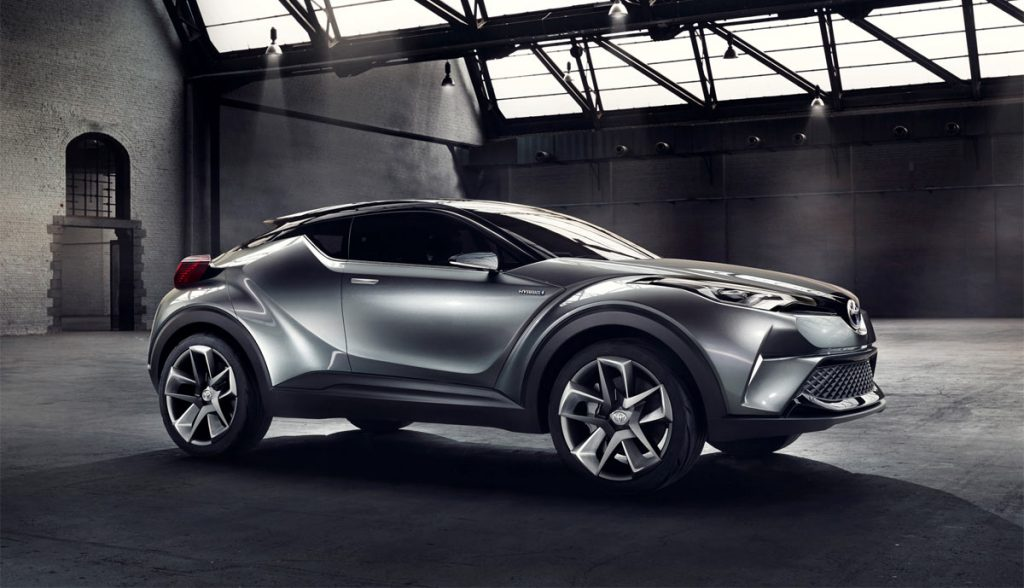 Car Interior Wallpaper Hd The Toyota C Hr Concept Is A Sharp Looking Crossover