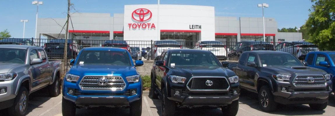 Car Finance Auto Loan Raleigh, NC Leith Toyota