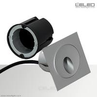 Square Recessed Wall Lights Outdoor & 3W Floor Washer ...