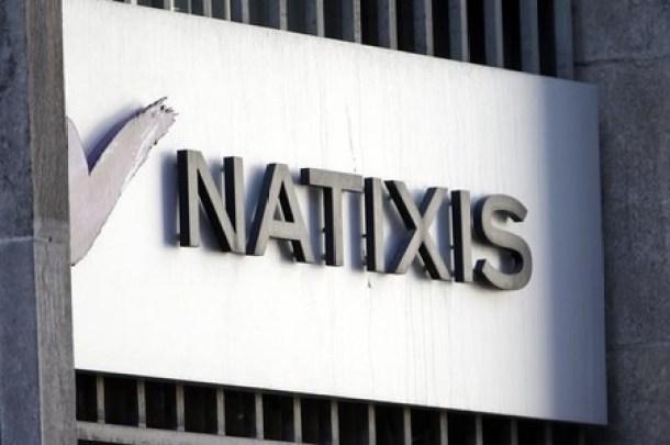 """La banque d'affaires Natixis a annoncé mercredi avoir été mis en examen dans le cadre d'une procédure d'instruction judiciaire ouverte en 2010 et qui vise deux communiqués diffusés au second semestre 2007, soit au début de la crise dite des """"subprimes"""" qui mènera un an plus tard à la faillitte de Lehman Brothers. /Photo d'archives/REUTERS/Charles Platiau"""