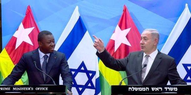 netanyahu-benyamin-israel-togo-faure-gnassingbe