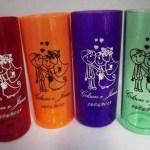 Copos long drink personalizados Gilson e Jana