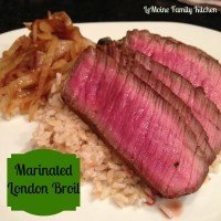 Marinated London Broil