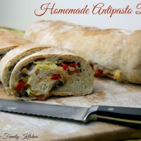 Homemade Antipasto Bread