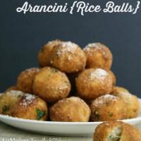 3 Cheese Arancini {Rice Balls}