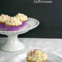 The Best Vanilla Cupcakes with Vanilla Buttercream