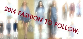 Fashion to Follow in 2014