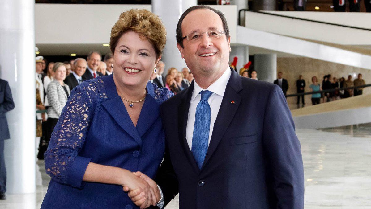 Brésil : François Hollande porte-étendard de la filière nucléaire