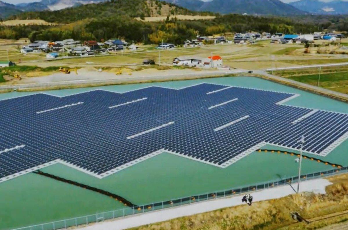 Deux centrales solaires flottantes mises en service au Japon