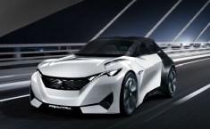 Concept car életrique : la Peugeot Fractal dévoilée au salon de Francfort