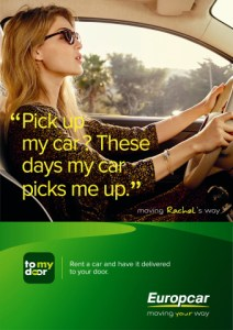 print europcar pick up