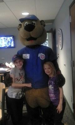 Iowa Cubs mascot