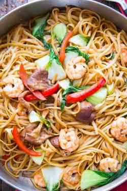 Best Saucy Shrimp Lo Mein Shrimp Lo Mein S Shrimp Lo Mein Crock Pot Shrimp Lo Mein Is A Dish That Combines Ease