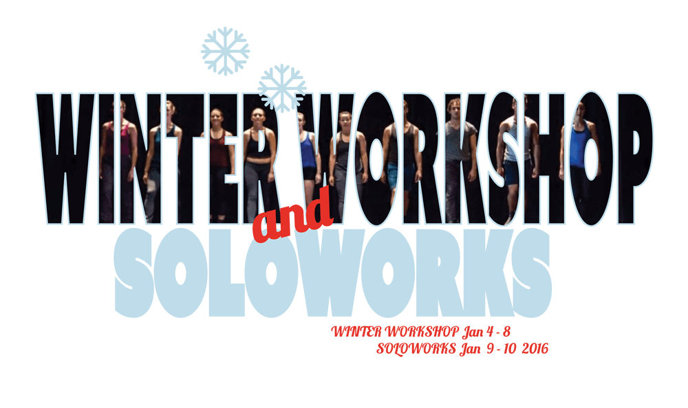 Winter Workshop with Soloworks 2016 signing up now!