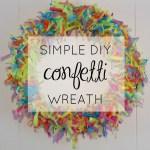Video DIY: Confetti Wreath