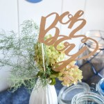 A Simple Nautical Baby Shower