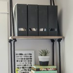 DIY Hanging Shelves (and Farewell Office)