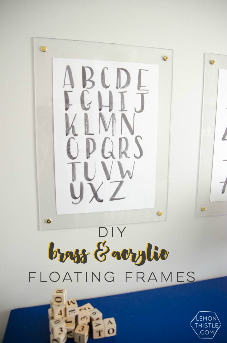 Diverting So Diy Brass Acrylic Floating A Fraction Diy Brass Acrylic Frames Lemon Thistle Acrylic Frames 5x7 Acrylic Frames Walmart photos Acrylic Picture Frames