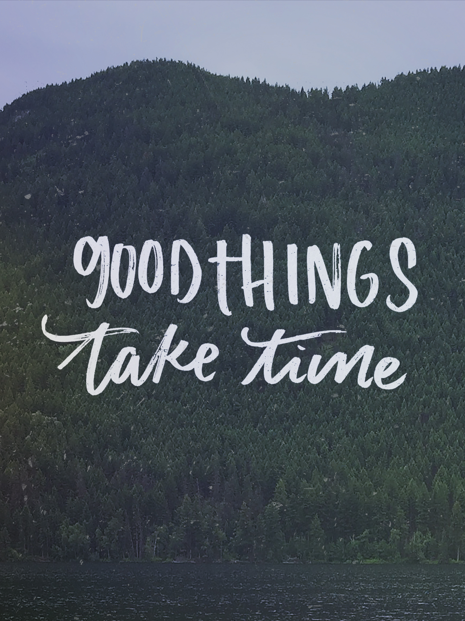 Quote Wallpapers Phone Good Things Take Time April Tech Wallpapers Lemon Thistle