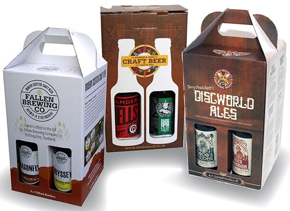 Beer Bottle Gift Box Design Lemontop Creative