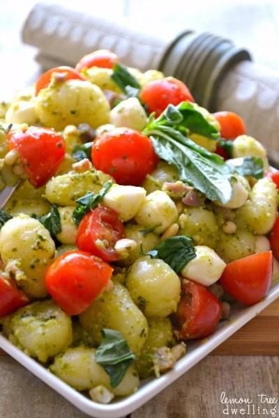 Pesto Caprese Gnocchi - The 36th AVENUE