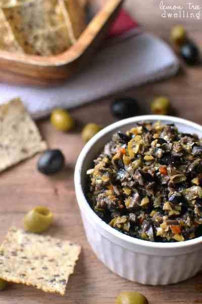 Olive Tapenade | Lemon Tree Dwelling