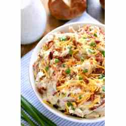 Manly All Bacon Cheddar Ranch Ken Salad Lemon Tree Dwelling Bacon Ranch Ken Keto Bacon Ranch Ken Pasta Bake This Bacon Cheddar Ranch Ken Salad Is Packed