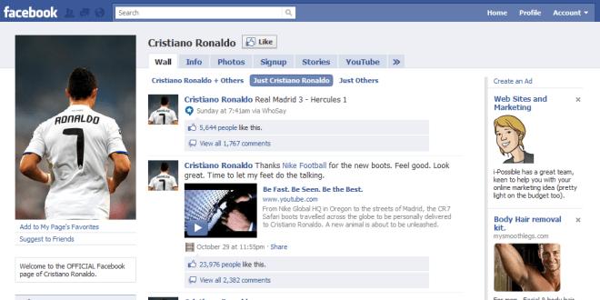 Facebook fanspage
