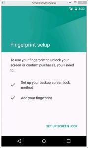 Fingerprint Android M via Hongkiat.com