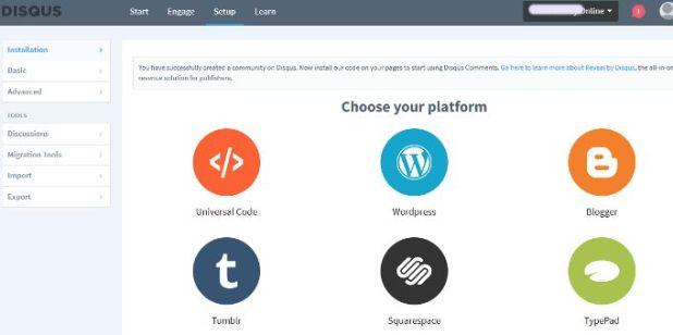 pilih platform
