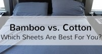 Organic Bamboo vs Egyptian Cotton Bed Sheets
