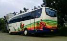Bus Suryaputra trip Wonosobo