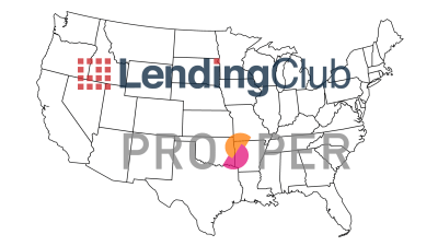 Which States are Open to Lending Club and Prosper?