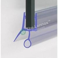 Shower Door Seal Bottom Strip - 6/10mm Glass