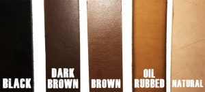 Lenwood Leather Color Samples