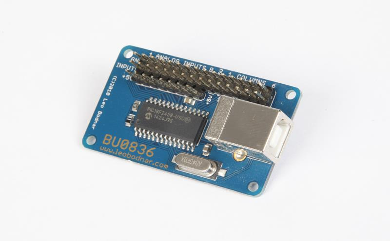 BU0836A 12-Bit Joystick Controller BU0836A - 2499GBP  Leo Bodnar