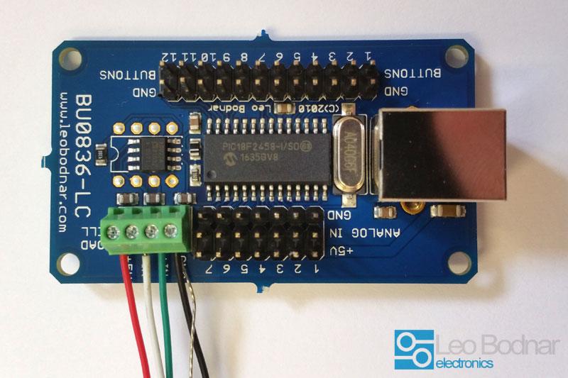 BU0836-LC Load Cell Joystick Controller BU0836-LC - 2699GBP  Leo