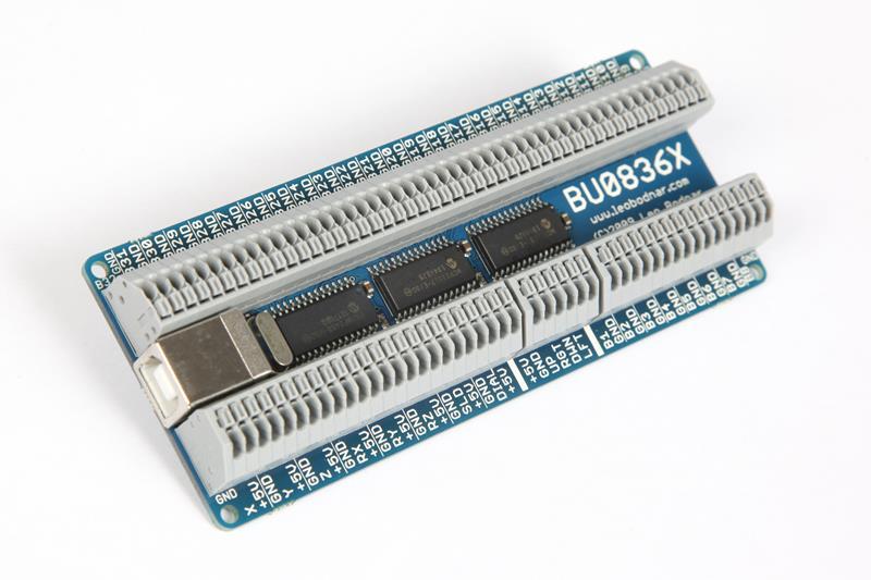 BU0836X 12-Bit Joystick Board BU0836X - 4999GBP  Leo Bodnar
