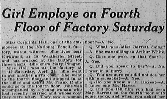 Girl Employe On Fourth Floor Of Factory Saturday