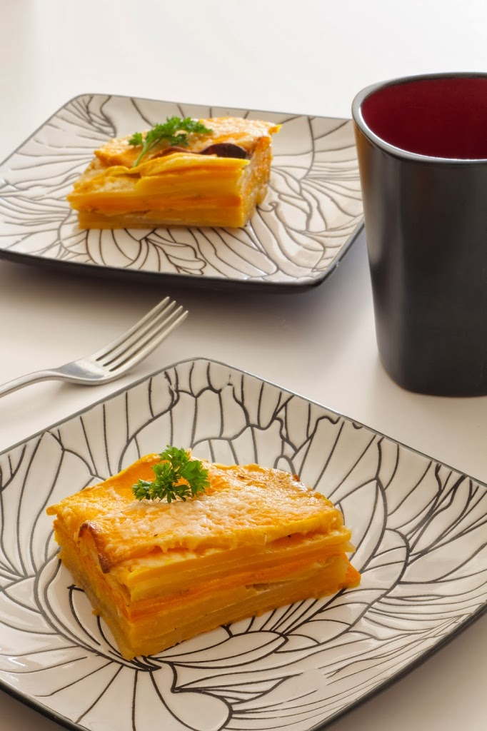 Root Vegetable Gratin - Le Petit Eats