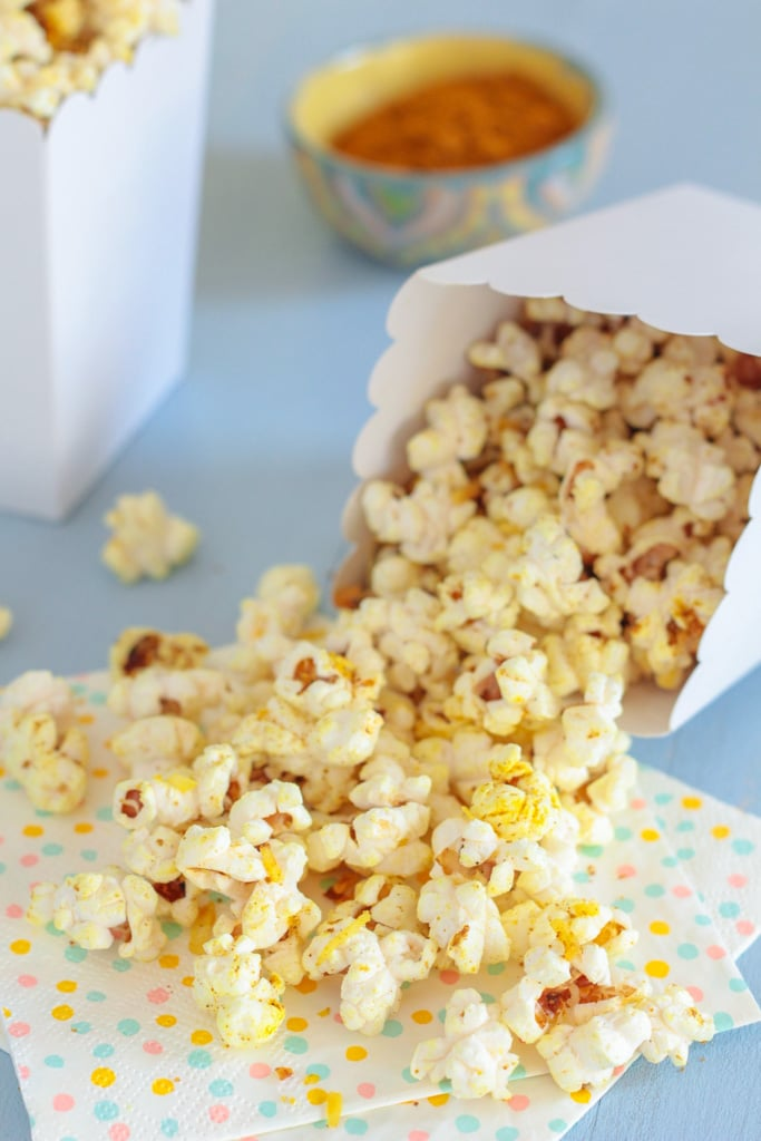 If you're looking for a quick, heathy snack Madras Curry Popcorn is ...