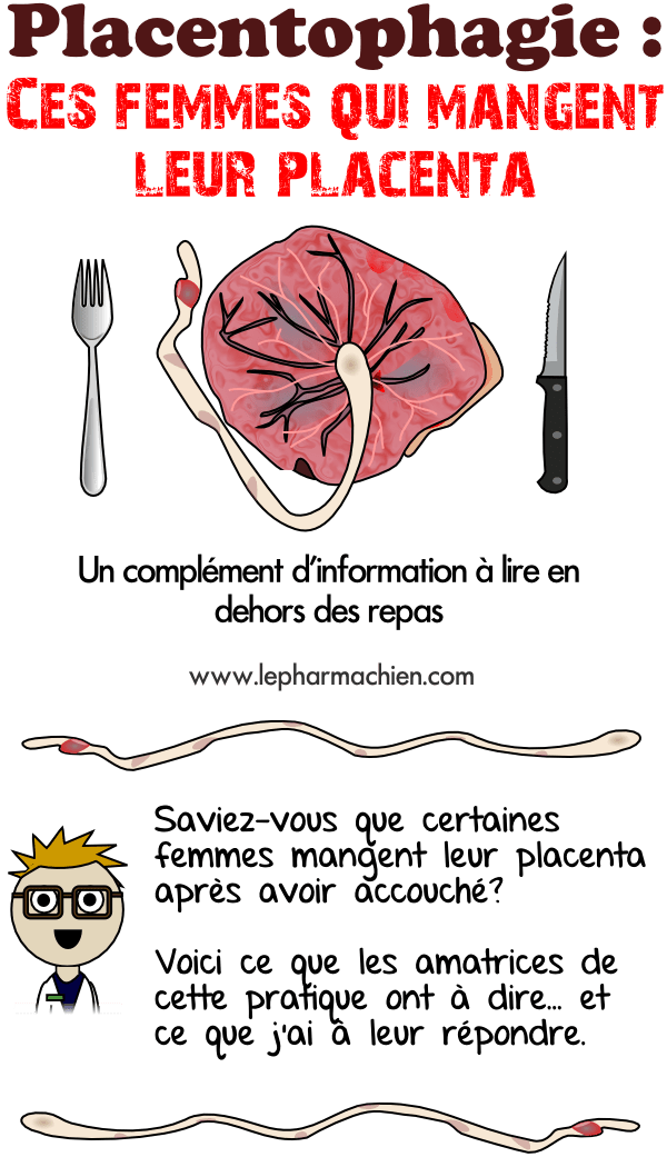 Introduction sur la mode de manger son placenta