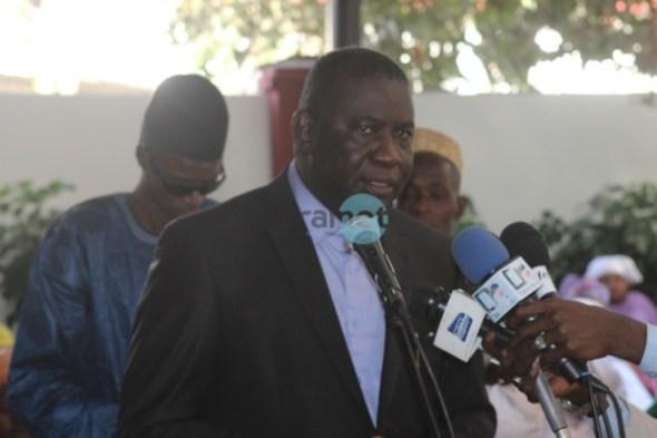Photos: La levée du corps d'Aboubacry Mbodj secrétaire général de la RADDHO